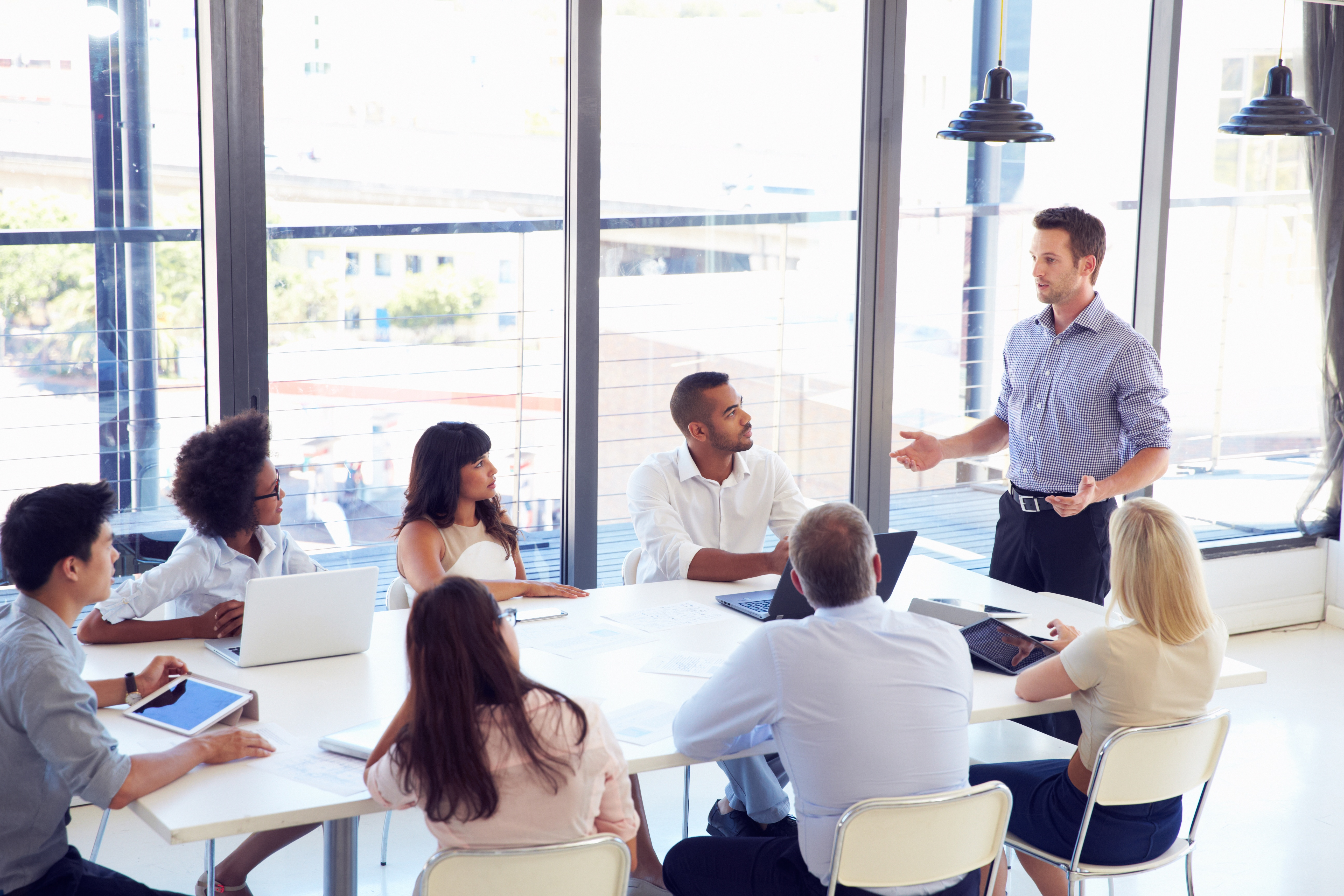 Presentare un progetto in un meeting internazionale - Wall Street English
