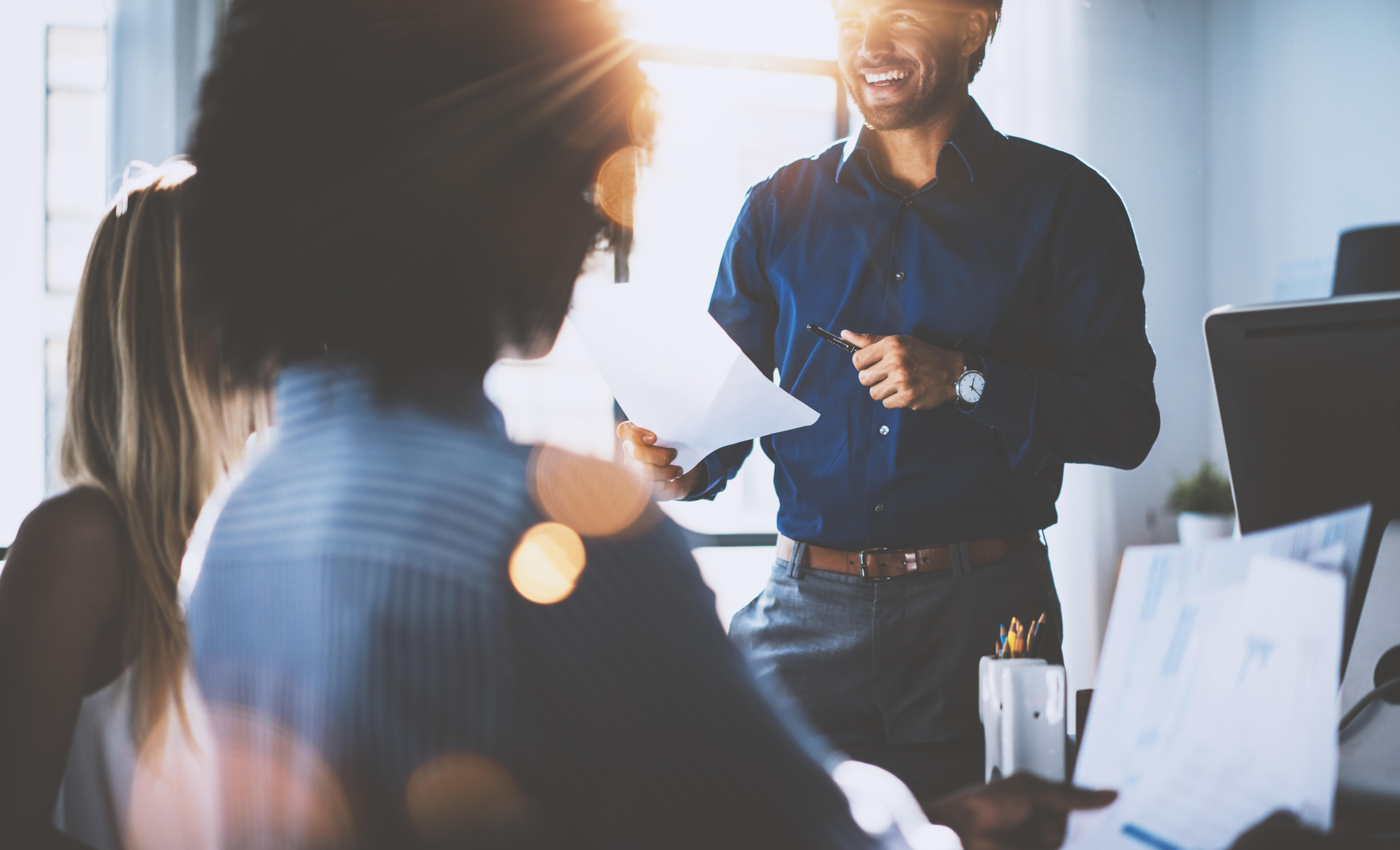 I 5 modi per migliorare le English Skills di un manager - Wall Street English